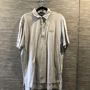 Gray Ralph Lauren Vintage Iisle Polo Sz L   NWOT
